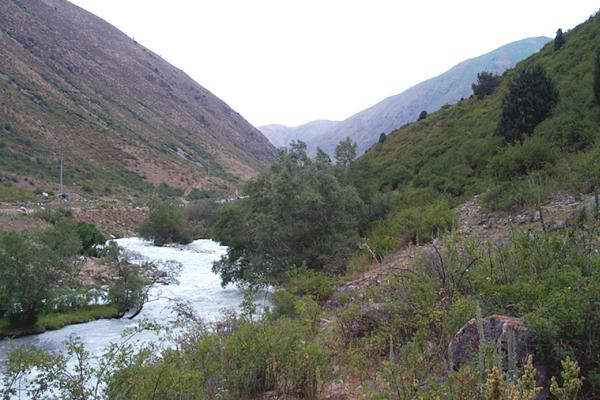 Alamedinskoye Gorge – about 15 km from the City of Bishkek